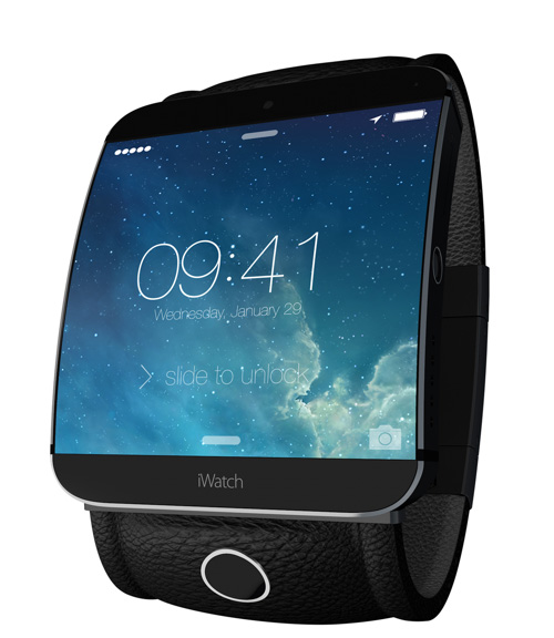 iWatch iPhone-like concept